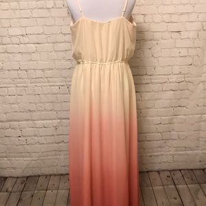 LC Lauren Conrad Dresses - Lauren Conrad Long Ombré Dress